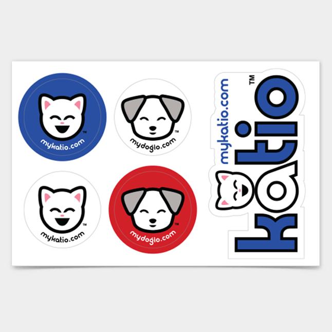 Katio™ Sticker Pack